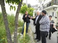 Κοινή περιοδεία του υπ. Δημάρχου Ιλίου Κ.Κάβουρα με τον υπ. Δήμαρχο Περιστερίου Φ.Κουγιουμτζή στα σύνορα Ιλίου – Περιστερίου