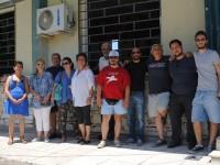 Στο Κέντρο Υποδοχής Προσφύγων του Λαυρίου βρέθηκαν μέλη και φίλοι της «Αλληλέγγυας Πόλης»