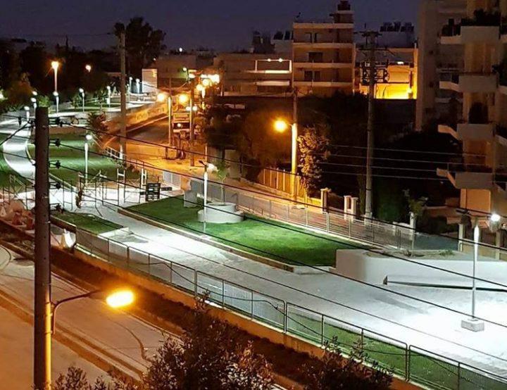 Ολοκληρώθηκε το έργο του εγκιβωτισμού του ρέματος της Εσχατιάς παρά την οδό Φλέβας από το Υπουργείο Υποδομών και Μεταφορών