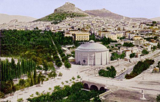 Αναπαράσταση του Ιλισού κατά το 1896 (http://envifriends.blogspot.gr/)
