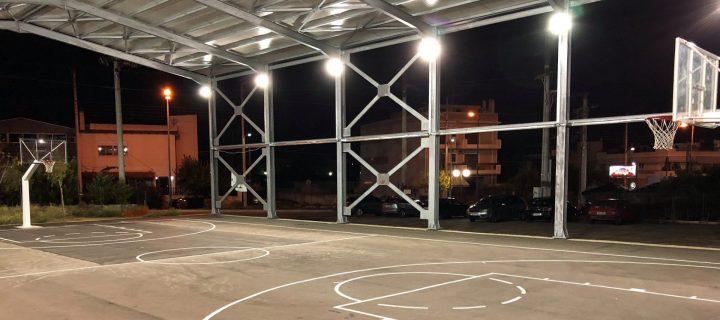 Το θέμα του στεγασμένου γηπέδου μπάσκετ επί της οδού Καπετάν Βέρα έφερε στο δημοτικό συμβούλιο η Αλληλέγγυα Πόλη