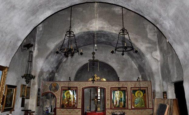 Το εσωτερικό του Ναού σήμερα. Φωτογραφία: Αλληλέγγυα Πόλη