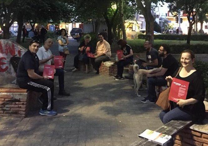Εξόρμηση μελών και φίλων της Αλληλέγγυας Πόλης στην περιοχή της Παλατιανής