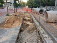 Αρχαιολογικά ευρήματα βρέθηκαν στα αντιπλημμυρικά έργα της οδού Έκτορος
