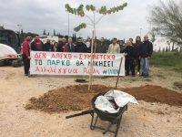 Το Πάρκο θα νικήσει: Δεντροφύτευση στο Πάρκο «Αντώνης Τρίτσης»