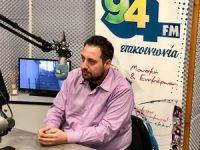 Κώστας Κάβουρας στον 94FM: «Τεράστιες ανισοκατανομές έργων στις συνοικίες του Δήμου Ιλίου»