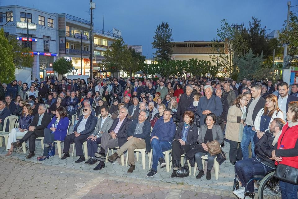 7d3230a163 Κλίμα αισιοδοξίας και νίκης στην παρουσίαση του συνδυασμού Αλληλέγγυα  Πόλη-Συμμαχία για το Ίλιον –