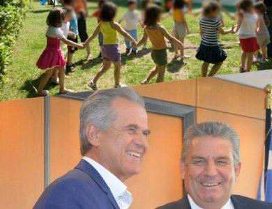 Με το «χαμόγελο στα χείλη» και φέτος 186 παιδιά εκτός Βρεφονηπιακών από τον κ. Ζενέτο στο Ίλιον