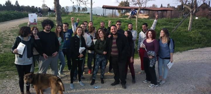 Εξόρμηση του Δικτύου Νεολαίας της «Αλληλέγγυας Πόλης» με τον υπ. Δήμαρχο, Κώστα Κάβουρα, στο πάρκο «Αντώνης Τρίτσης»