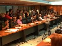 """Οι εκπρόσωποι της """"Αλληλέγγυας Πόλης"""" στο Δημοτικό Συμβούλιο"""