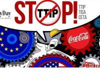 Πανευρωπαϊκή κινητοποίηση ενάντια στις διατλαντικές συμφωνίες TTIP, CETA και TISA