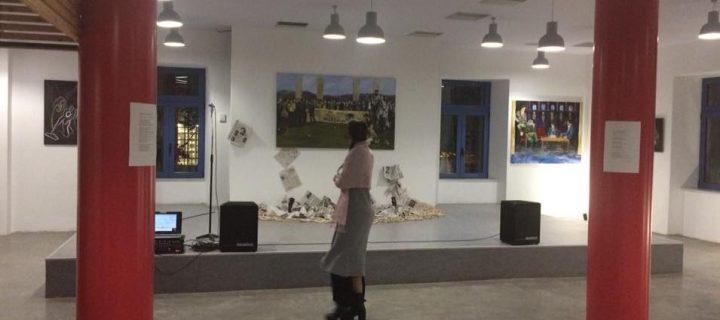 «Στην πλάτη του καιρού»: Έκθεση ζωγραφικής στον Πολυχώρο Σπούτνικ, 3-9 Νοεμβρίου