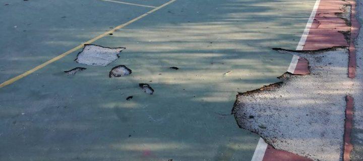 Απαιτούμε την άμεση αποκατάσταση των αθλητικών υποδομών στον αύλειο χώρο του 4ου Γυμνασίου Ιλίου