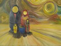 Έκθεση ζωγραφικής του Γιώργου Καλτσά: «Μια βόλτα στον κόσμο»