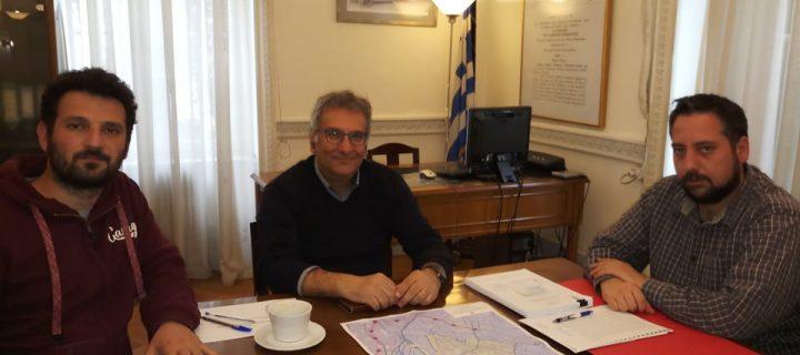 Συνάντηση αντιπροσωπείας της Αλληλέγγυας Πόλης με τον Πρόεδρο του ΟΑΣΑ, κ. Τάσο Ταστάνη, για το θέμα των συγκοινωνιών στο Ίλιον