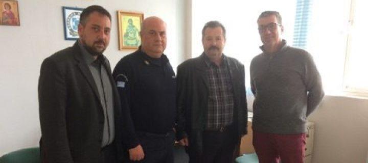 Το Αστυνομικό Τμήμα Ιλίου επισκέφτηκε ο υπ. Δήμαρχος Ιλίου Κώστας Κάβουρας