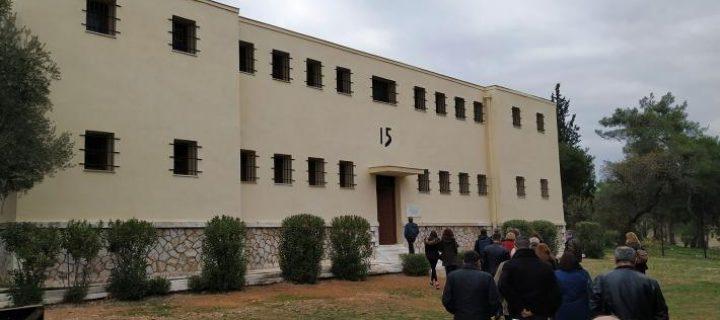 Πρωτομαγιά: Επίσκεψη-προσκύνημα στο ιστορικό Μπλοκ 15 του στρατοπέδου Χαϊδαρίου