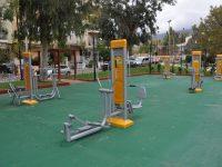 Υπαίθρια γυμναστήρια, ανάγκη για ψυχαγωγία και επικοινωνία για τους κατοίκους ενός από τους μεγαλύτερους Δήμους της Αττικής
